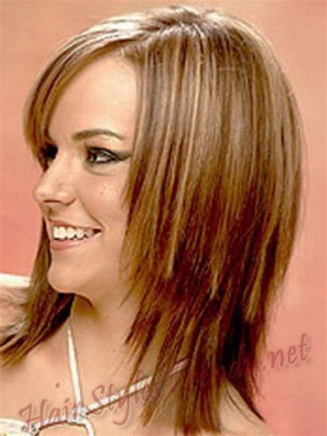 pics of medium layered hairstyles for straight hair and fat faces medium length layered haircuts for straight hair