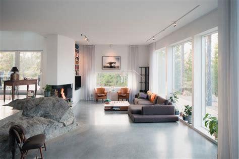 decoratie woonkamer modern woonkamer met natuur decoratie homease