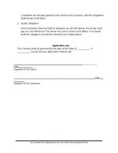 Suretyship Agreement Template by Warranty Agreement Template Hashdoc