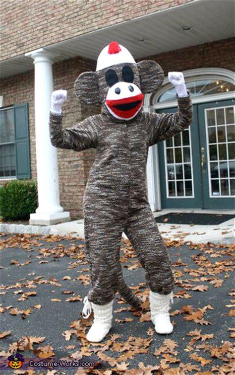 diy sock monkey costume sock monkey costume