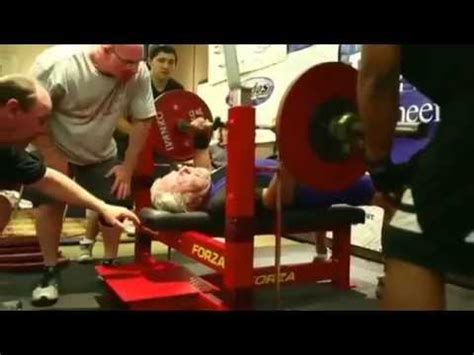 old man bench press 91 year old man bench presses 187 pounds youtube