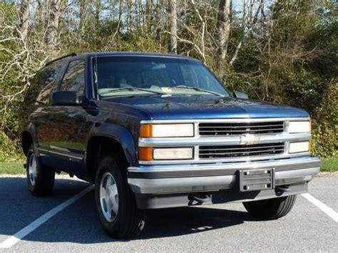 Chevy Tahoe 98 by Sell Used 98 Chevy Tahoe 2 Door Auto 4x4 Ls 5 7l No