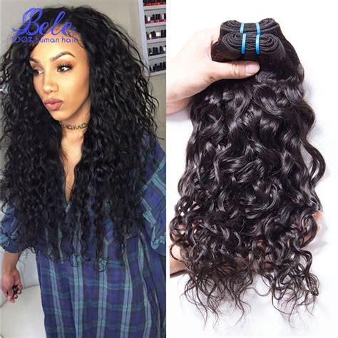 peruvian natural wavy hairstyles aliexpress com buy peruvian wet and wavy human hair 3pcs