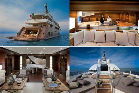 interno yacht j ade il best interior luxury yacht con garage interno