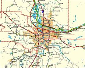 map portland oregon area map of greater portland oregon metro area pictures to pin
