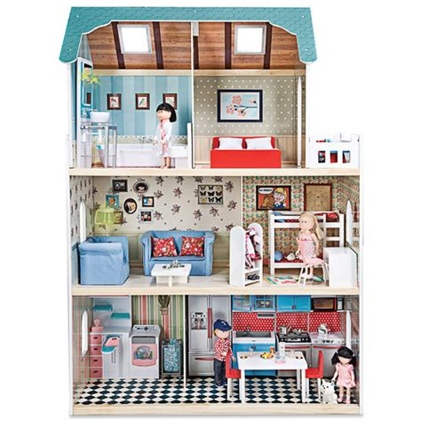 imaginarium dolls house wooden dolls house amanda maison