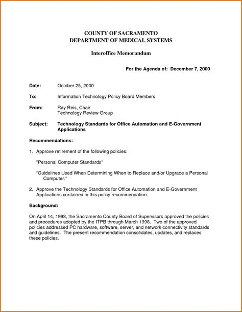 Memorandum Template Office 5 Interoffice Memorandum Template Lease Template
