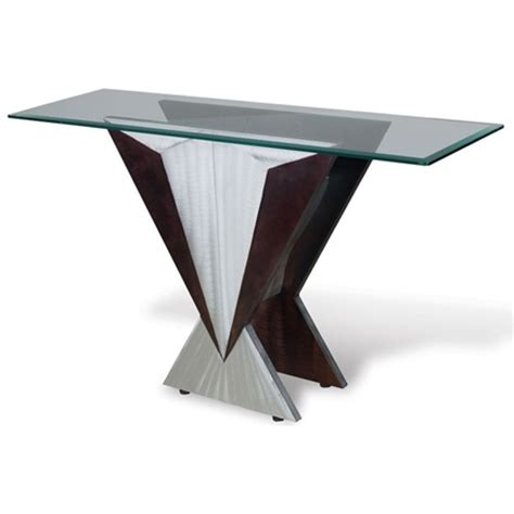 sectional with table wedge wedge console table dcg stores