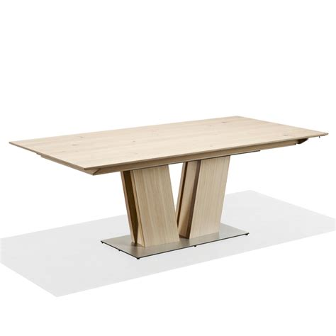 Modern Oak Dining Table Skovby Sm 39 Oak Extending Dining Table Modern Oak Tables 4living