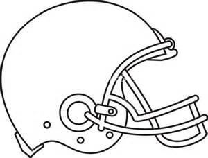 Football Helmet Outline Profile by American Football Helmet Line Drawing Stock Image