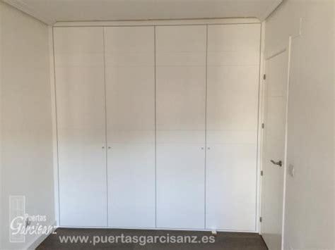 frente de armario empotrado frente de armario abatible lacado blanco puertas garcisanz