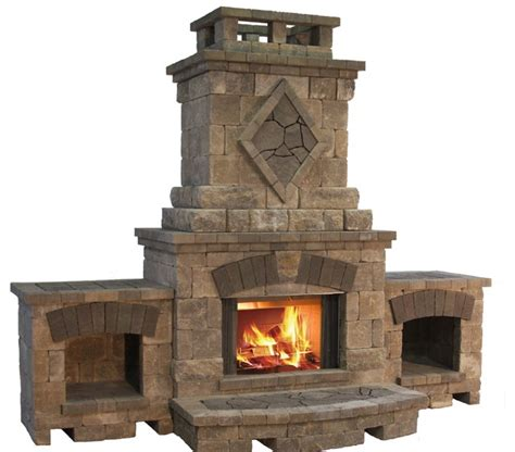 Modular Outdoor Fireplaces - bristol fireplace from the belgard elements collection contemporary fire pits other metro