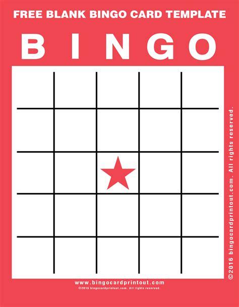 free printable blank bingo card template free blank bingo card template bingocardprintout