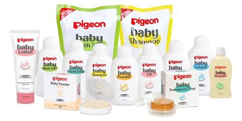 Pigeon Baby Toiletries Hypoallergenic Gift Set Murah pigeon baby products