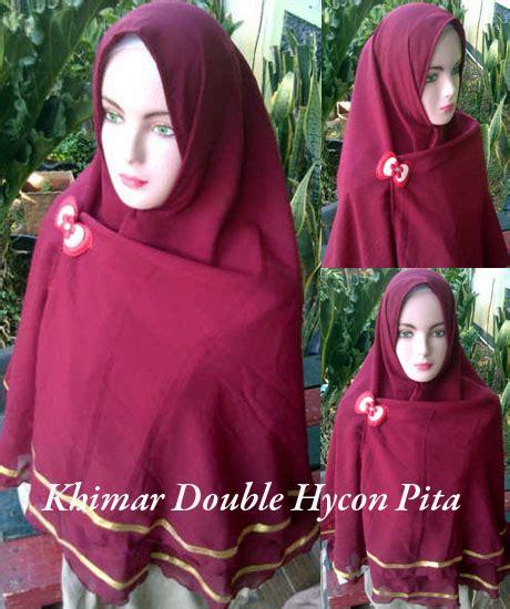 Kain Untuk Khimar mengenal beberapa bahan kain untuk produksi jilbab atau