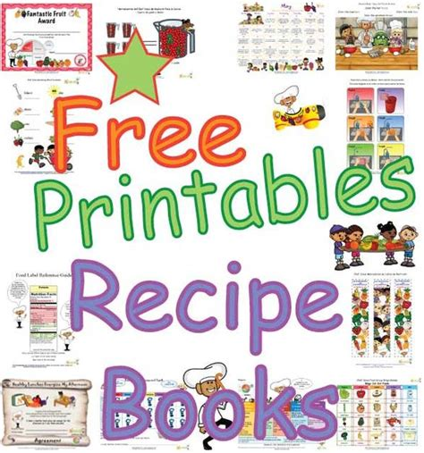 picture books for visualizing healthy recipe books for for print