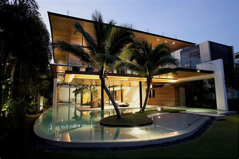 best design of house top residential architecture eco friendly beach house by