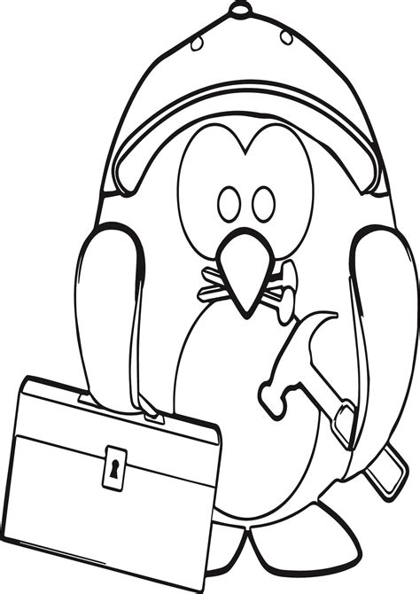 macaroni penguin coloring page coloring pages of a penguin macaroni penguin coloring