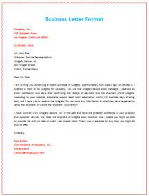 Business Letter Example sample business letter format example pdf