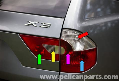 rear brake light pelican technical article bmw x3 tail light early