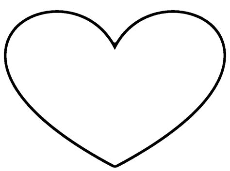 free coloring pages of trace heart shape