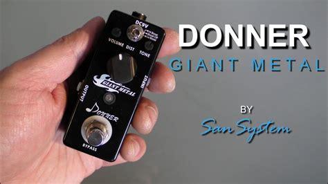 Donner Metal donner metal heavy distortion