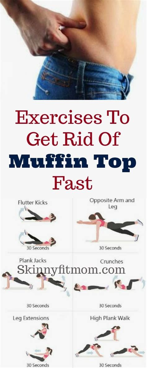 8 simple exercises to get rid of muffin top in a week clean diet cardio and exercises
