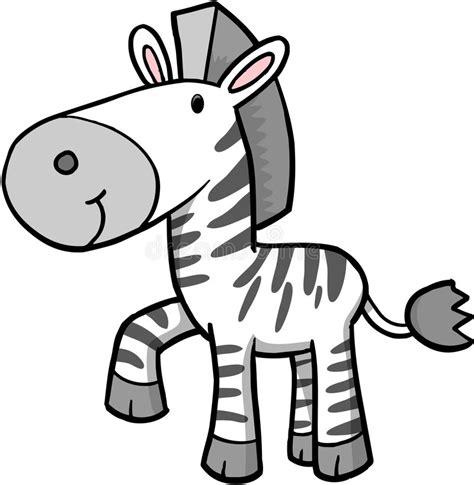 zebra vector illustration stock vector image of mammal