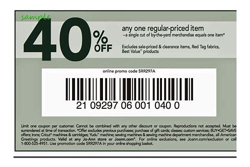joann coupon store printable