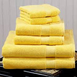 bath towels yellow yellow turkish cotton bath towels market polyvore