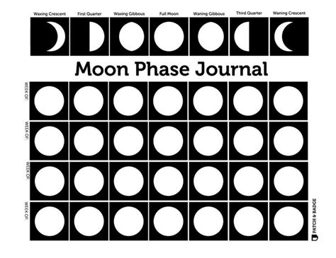 printable moon journal 77 best printable images on pinterest badge badges and