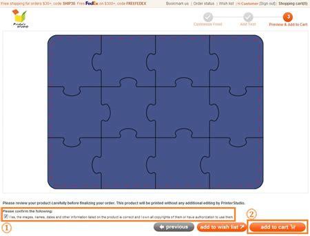 make your own puzzle invites tutorials