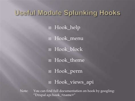 drupal theme hook not found intro to drupal module internals