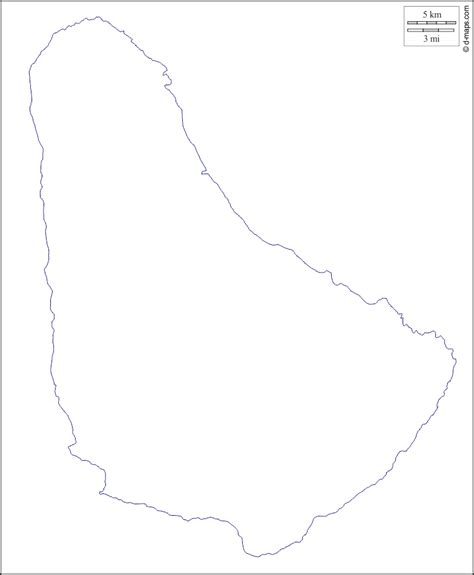 barbados maps including outline and topographical maps barbados free map free blank map free outline map free