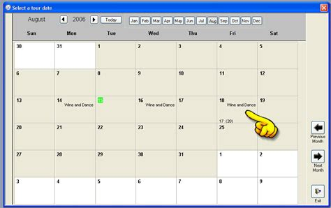 ms access calendar template performance trying to make an efficient calendar in