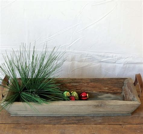 wooden tray rectangular wood tray rustic tray antique