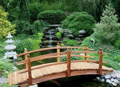 backyard bridges design pont de jardin designs inspirants en 55 photos fascinantes