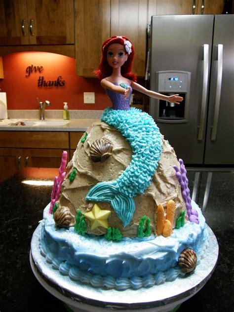 birthday cake   niece  loves ariel cakes pinterest birthdays mermaid birthday