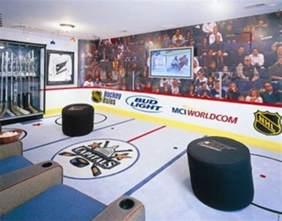 Sports Themed Bedroom Decor Caps Crazy Hockey Fanatics Media Room Eclectic Home