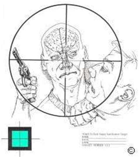 printable long range shooting targets targets