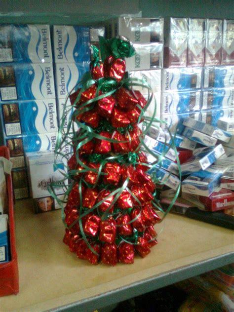 árbol de navidad con dulces dulce navidad manualidades