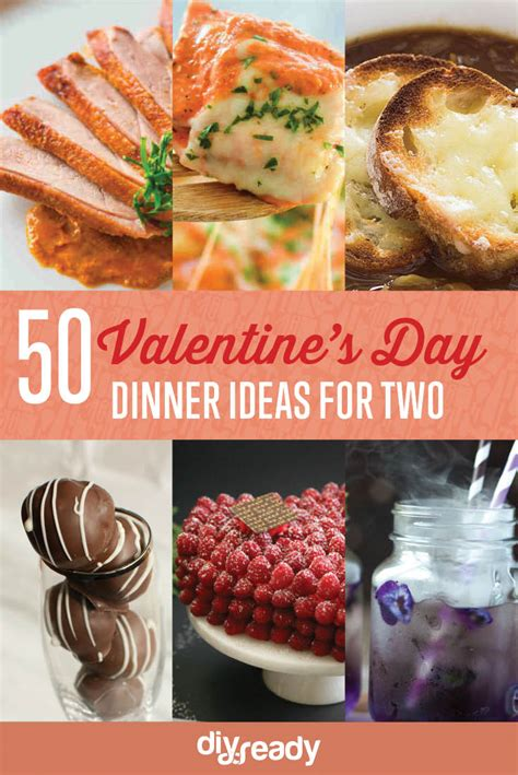 valentines dinner ideas 50 valentines day dinner ideas for two diy ready