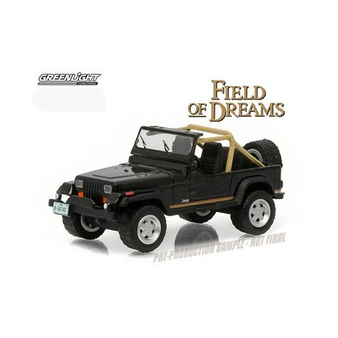Greenlight 1987 Jeep Wrangler Yj Patriot greenlight series 14 1987 jeep wrangler yj field of dreams