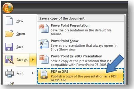 powerpoint tutorial pdf 2003 powerpoint 2007 save as pdf add in powerpoint ninja