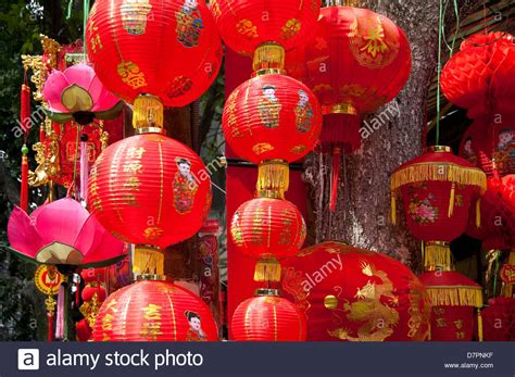 new year lanterns for sale horizontal up view of paper lanterns on