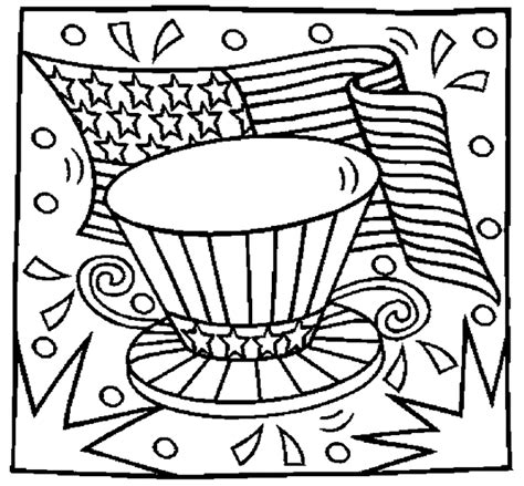 Coloring Page 4th Of July by Fourth Of July Coloring And Activity Pages 4th Of July