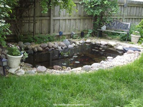 Garden Pond Ideas with Pond Ideas Glenns Garden Gardening