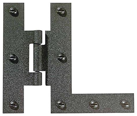 1 4 offset cabinet hinges cabinet hinges black wrought iron hl hinge pr 3 quot h 3 8