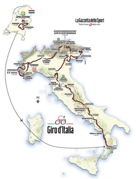 Calendario Kart 2016 2016 Giro D Italia Race Route Officially Unveiled In Milan