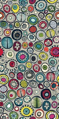 pattern maker honolulu honolulu hoops chevron cream fabric scrummy spoonflower